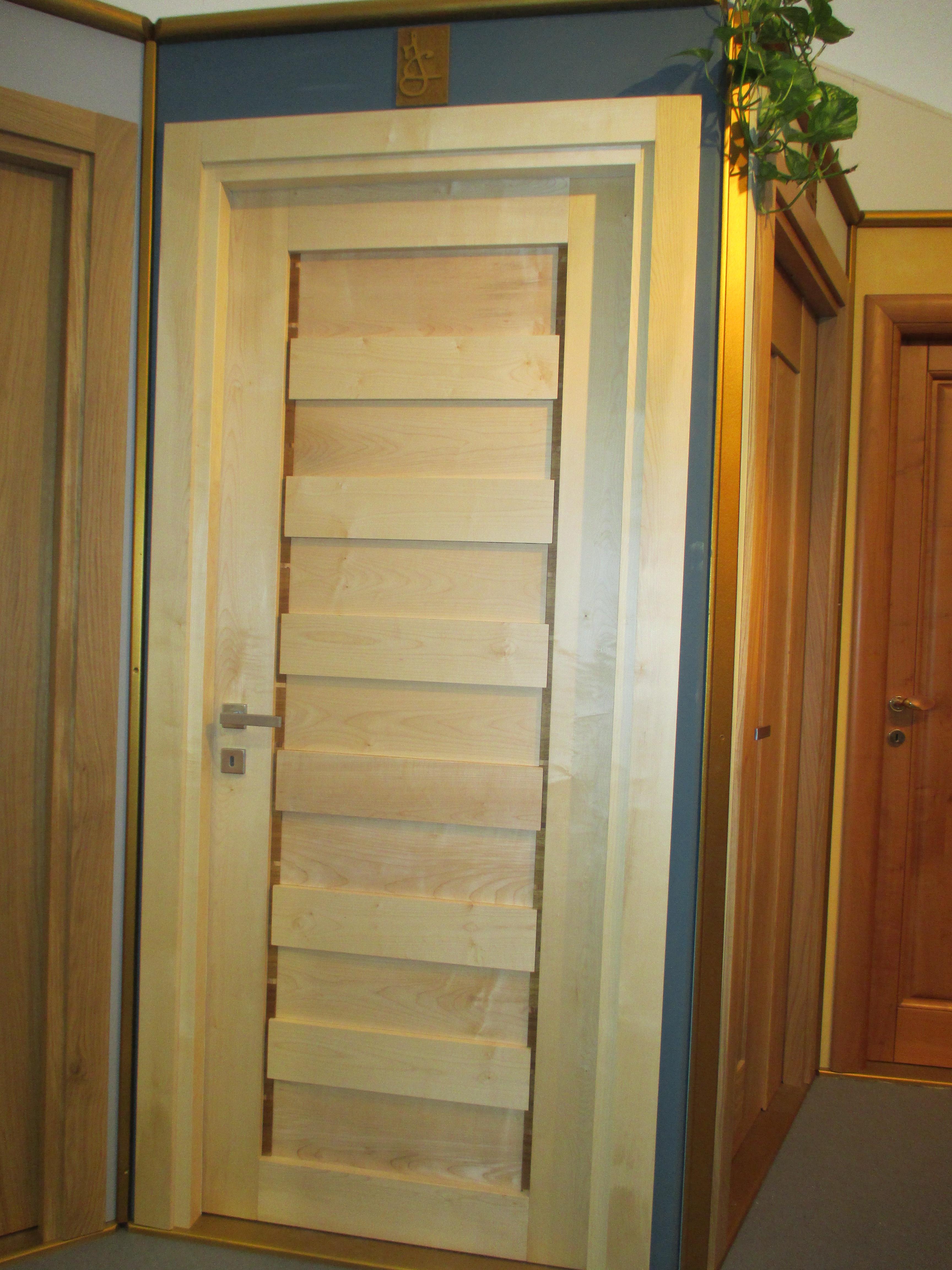 Mod. ORIZZONTI in legno massello di ACERO